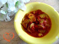 Zucchine dolci stufate (no ricetta)