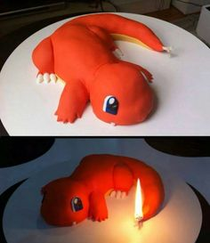 Charmander Cake!