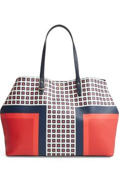 4211a100c46 TORY BURCH Kerrington Coated Canvas Tote.  toryburch  bags  hand bags   canvas  tote