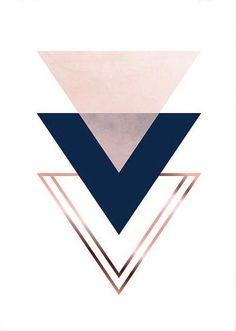 Cute but simple triangle wallpaper... Follow me @anna2023147