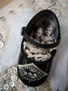 ArtJoyStuff   would make a perfect Christmas ornament and keepsake for Mom and Grandma
