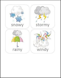 Free weather and temperature cards
