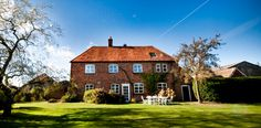 Home Farm House at Wasing Park, Berkshire. Providing accommodation for your extended family and additional wedding guests. http://www.wasing-weddings.co.uk/weddings.html/home-farm-house.html #weddingvenue #berkshirewedding