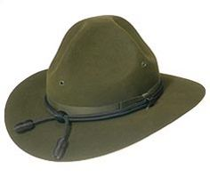Style: 963 Turn Down Brim Campaign Hat