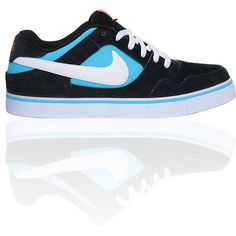 Nike SB P-Rod 2.5 Black & Blue Skate Shoe $65