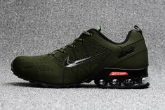 release date: e62ab 472e3 Mens Nike Air Ultra Max 2018. 5 Shox Olive Green Black Running Shoes