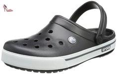 Crocs Band 2.5, Sabots mixte adulte, Noir (Black/Charcoal), EU 37-38, (US M5W7) - Chaussures crocs (*Partner-Link)
