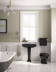 The traditional Henley collection, exclusive to C.P. Hart #traditionalbathrooms #bathrooms