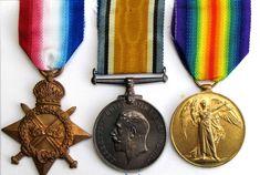 Original WW1 War Medal Trio 41522 DVR J W Roberton RFA RA - The Collectors Bag War Medals, The Collector, The Originals, Bag, Purse, Bags, Pocket