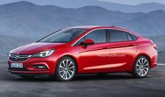 Opel Astra sedan 2016 -2