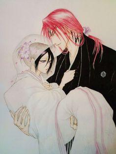 Renji and Rukia #Bleach