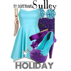 """""""Sulley"""" by lalakay on Polyvore"""