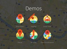 Demos from Google Maps