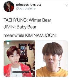 Namjoon, Bts Taehyung, Bts Jimin, Bts Memes Hilarious, Bts Funny Videos, Pokerface, Bts Meme Faces, Bts Funny Moments, Bts Tweet