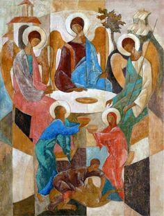 Vasiliy Myazin, The Old Testament Trinity