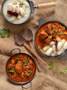 Kozhi Pidi /Chicken Curry and Rice Dumplings | kurryleaves