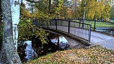 Lokakuun maisemaa; Kirjurinluoto, Pori/Johan Lehtinen Western Coast, Garden Bridge, Finland, Scenery, Europe, Outdoor Structures, City, Landscape, Cities
