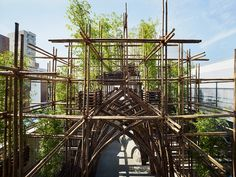 vo trong nghia celebrates TOTO gallery MA's 30th anniversary with bamboo forest pavilion