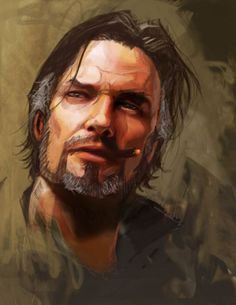 #JimRaynor 's Face #ConceptArt from #Starcraft2