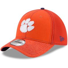 pretty nice b4621 0b873 Men s New Era Orange Clemson Tigers Shadow Burst 39THIRTY Flex Hat Acc  Store, Clemson Tigers