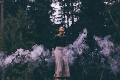 Lavender smoke + conversations with trees // Moon Cycle Bakery
