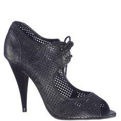 Sandale cu toc inalt,de dama marca Mojito Fete: piele ecologica Interior: piele naturala Toc: 11 cm Mojito, Derby, Peeps, Peep Toe, Booty, Interior, Shoes, Fashion, Moda