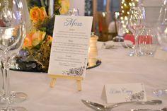Grace & Bramble | Classical Wedding Stationery menu