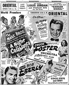 A Night in Casablanca(1946,The Marx Bros) ※5/15/1946,Chicago Tribune