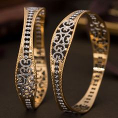 Plain Gold Bangles gms) - Fancy Jewellery for Women by Jewelegance Plain Gold Bangles, Gold Bangles For Women, Gold Bangles Design, Gold Earrings Designs, Silver Bangle Bracelets, Jewelry Design, Manubhai Jewellers, Fancy Jewellery, Bridal Bangles