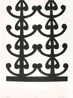 Paper-works - Lonnie Hutchinson artwork details Glyphs, Cut Outs, Paper Cutting, It Works, Symbols, Ornaments, Detail, Artist, Artwork