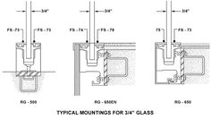 Image result for glass balustrade on metal structure