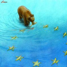 gold fishes , Pawel Kuczynski ,