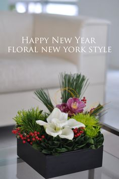 Fresh Flower Arrangement #62 by FLORAL NEW YORK, via Flickr