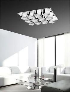 Nova Luve / Illuminati / Diamond Illuminati, Modern Lighting, Nova, Chandelier, Ceiling Lights, Diamond, Home Decor, Candelabra, Decoration Home