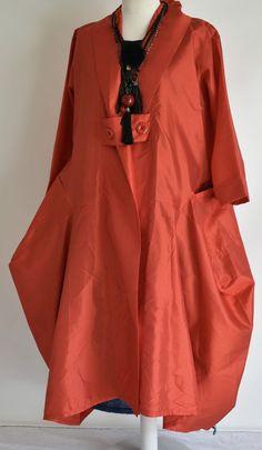 Тафта styyle сара сантос многослойный структурированный парашют пальто, размер m/l красный   Одежда, обувь и аксессуары, Одежда для женщин, Пальто и куртки   eBay!