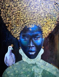 Tamara Natalie Madden (born August 1975) is a Jamaican painter. Madden's paintings are allegories that were created to empower the everyday people of the African diaspora