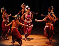 A ballet in the Odissi style.