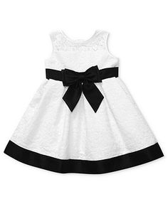 Sweet Heart Rose Baby Dress, Baby Girls Lace Special Occasion Dress