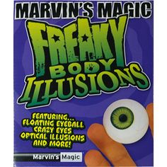 Freaky Body Parts Eyeball! by Marvin's Magic Magic Illusions, Optical Illusions, Magic Sets, Magic Props, Crazy Eyes, Magic Book, Body Parts, The Magicians, The Incredibles