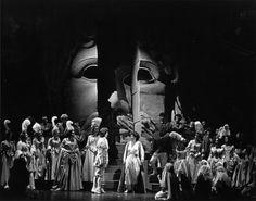 Idomeneo, Rè di Creta  By: Wolfgang Amadeus Mozart  Venue: NAC Opera (Southam Hall)  Year: 1981  Designer: Josef Svoboda