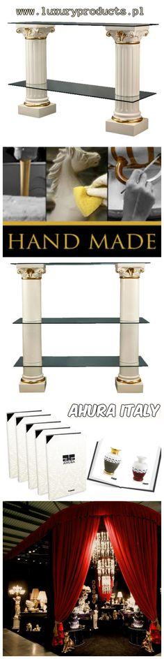 TV Ceramic Table Columns - Elegant #Design