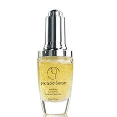 Uskincare 24K Gold Foil Facial Serum with Vitamin C + Hyaluronic Acid - http://best-anti-aging-products.co.uk/product/uskincare-24k-gold-foil-facial-serum-with-vitamin-c-hyaluronic-acid/