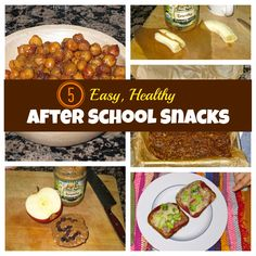 5 Easy, Healthy Whole Food Snack Ideas for After School (or whenever!)