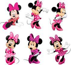 Vetores E Imagens Minnie Minie Baby Em Formato Png, Cdr - R$ 15,00