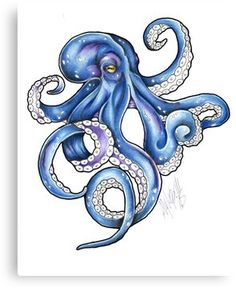 'Kraken Color Flash tattoo' iPad Case/Skin by HorimonoAtelier – Octopus Tattoo Octopus Drawing, Octopus Painting, Octopus Tattoo Design, Octopus Tattoos, Octopus Art, Octopus Outline, Cute Octopus Tattoo, Tattoo Designs, Tattoos Mandala