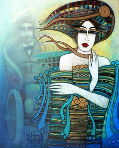 Moi Non Plus Painting by Albena - Moi Non Plus Fine Art Prints and Posters for Sale