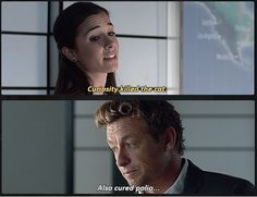 The Silver Briefcase: Season 7 Episode 5: originally broadcast on CBS on Sunday, December 28, 2014: written by Jordan Harper: directed by Simon Baker: Runtime 40 minutes | Special Agent Michelle Vega (Josie Loren) and Patrick Jane (Simon Baker)