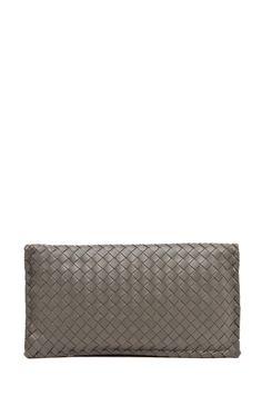 BOTTEGA VENETA  Small Clutch in Grey  $1,550