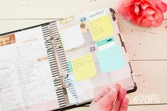 How to create a work planner from the @heidiswapp Memory Planner by @createoften with a free label printable