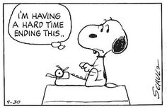 September 30, 1973 - Snoopy's  Writing